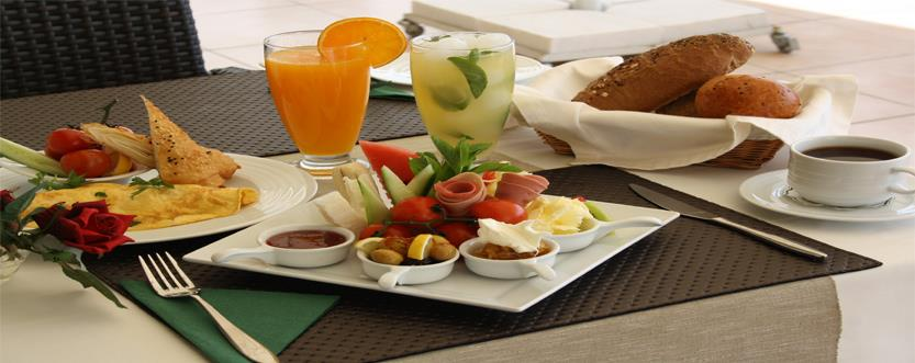 Breakfast package for early check-outs, (FOC)