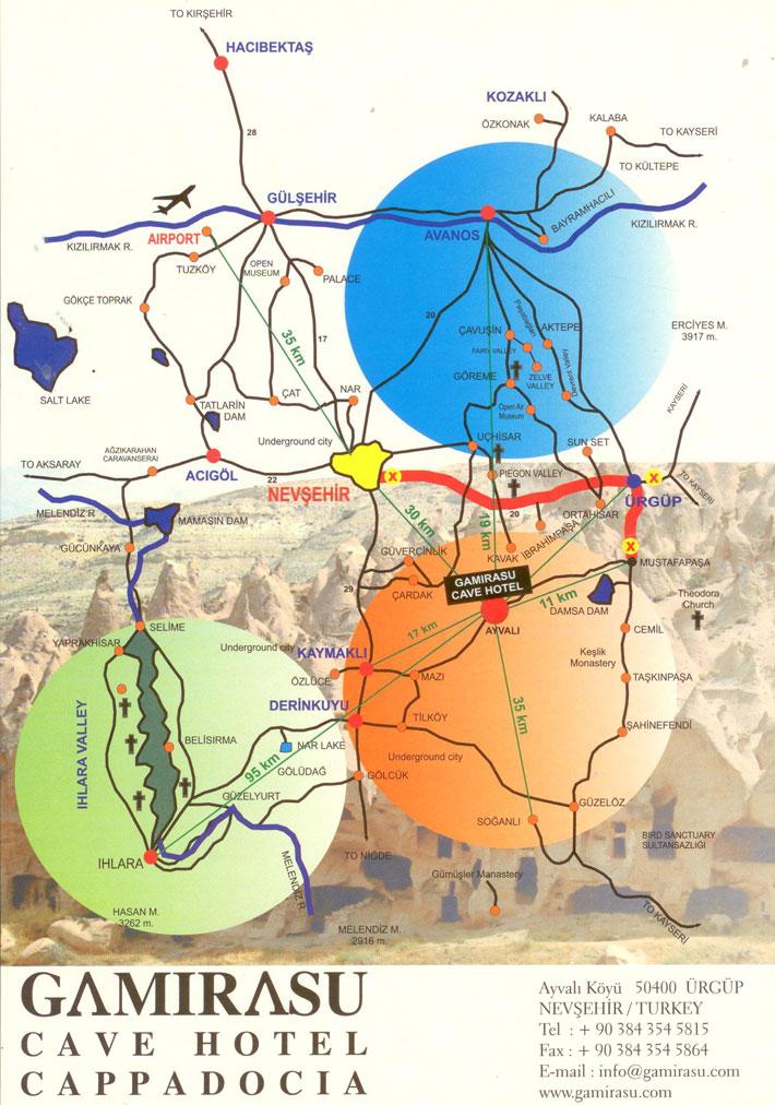 Cappadocıa Map on ardahan map, ankara map, dolmabahce palace map, pamukkale map, carpathian mountains map, anatolia map, turkey map, tatev monastery map, kayseri map, lycian sea map, macedonia map, bitlis map, nevsehir pazar map, cilicia map, underground city, mount nemrut, campania map, pontus map, troy map, goreme map, mount ararat, derinkuyu underground city, phthia map, ephesus map,